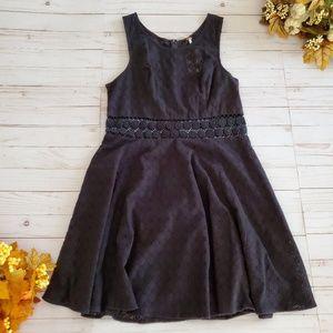 Free People Daisy Lace Black Dress NWT Size 12
